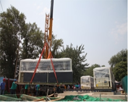 北京海淀无煤化空气源热泵集中供暖项目