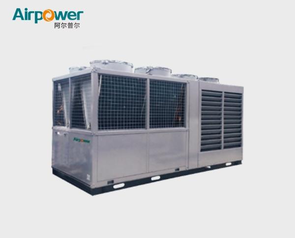 河南水气双源三联供大型热泵机组